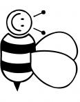 abeille qui vole