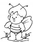 bébé abeille