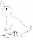 canard qui chante une chanson