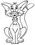 chat avec un colier