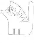 chat dessin animé