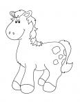 cheval de la ferme