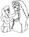 cheval gagne la course