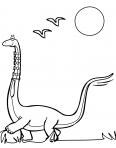 dinosaure avec une cravatte