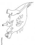 dinosaure avec une grosse carapace