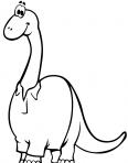 dinosaure diplodocus avec une chemise