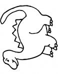 dinosaure diplodocus debout