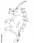 dinosaure kentrausaurus