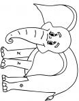 éléphant de la savane