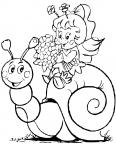 escargot et maya l'abeille