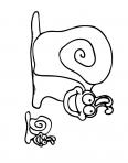 escargot qui rigole