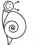 escargot qui sourit