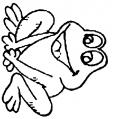 grenouille qui attend ses copains