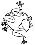 grenouille qui danse