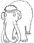 gros mammouth au repos