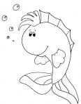 jeune poisson heureux