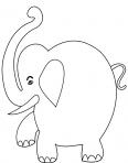 l'éléphant et sa trompe