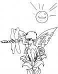libellule et la fée clochette