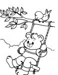 ours fait de la balançoire