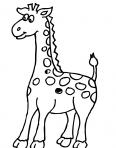 peluche en forme de girafe