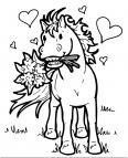 petit cheval amoureux