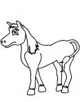 petit cheval triste