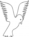 petit oiseau qui vole