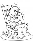 petit ours avec sa maman