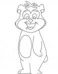 petit ourse debout