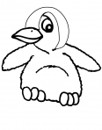 petit pingouin vraiment mignon