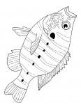 poisson carpe la bouche ouverte