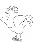 poule qui chante