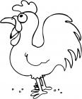 Coloriage poule imprimer - Photos poules rigolotes ...