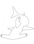 requin marteau dans l'océan
