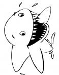 requin tout étonné