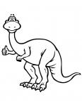 tyrannosaure rex leve le pouce