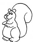 un enfant écureuil