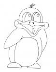 un pingouin chante une chanson